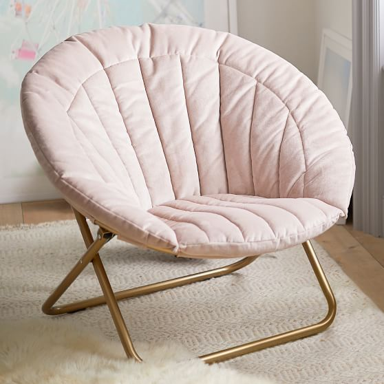 Lustre Velvet Dusty Blush Channel Stitch Hang A Round Chair In 2021 Round Chair Comfy Chairs Cool Chairs