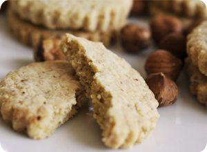 Sablés aux noisettes, recette facile, rapide et sans gluten