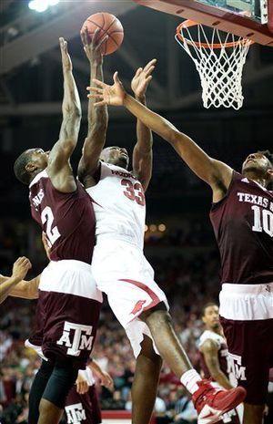 Arkansas beats texas a and m 74-71 | Arkansas ends No. 5 Texas A&M's streak with 74-71 win - The Daily ..