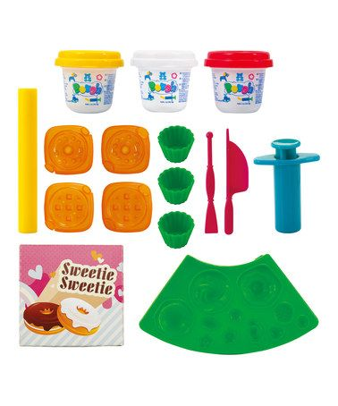 Another great find on #zulily! Modeling Clay Cupcake Set by Playgo #zulilyfinds