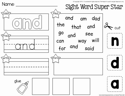 That Worksheet Kindergarten Sight Word In 2020 Sight Words Kindergarten Sight Word Worksheets Kindergarten Worksheets Sight Words