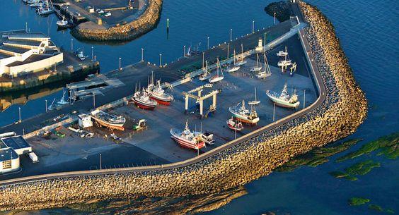Le port de La Turballe, en Loire-Atlantique.