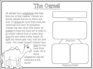 Worksheets 2nd Grade Main Idea Worksheets a well texts and awesome on pinterest non fiction passages main idea details