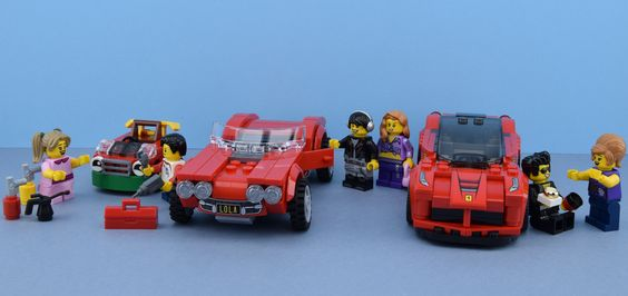 https://flic.kr/p/QDyVvD   LEGO Cars evolution    Hey folks it's Alex here ! Look at this picture : it's the story of a boy who likes cars and a girl  One day in 1970 the boy was building a car made of plastic and metal. A girl was very interested by his car, she came towards him. The years roll on and they grow old, the boy had worked hard to buy a Chevrolet Corvette for him and for his girlfriend in 1990. Now in 2017, they were very close and he ask her hand in marriage  What happen
