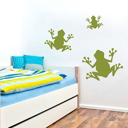 Sweetums Set of Frogs Wall Decals