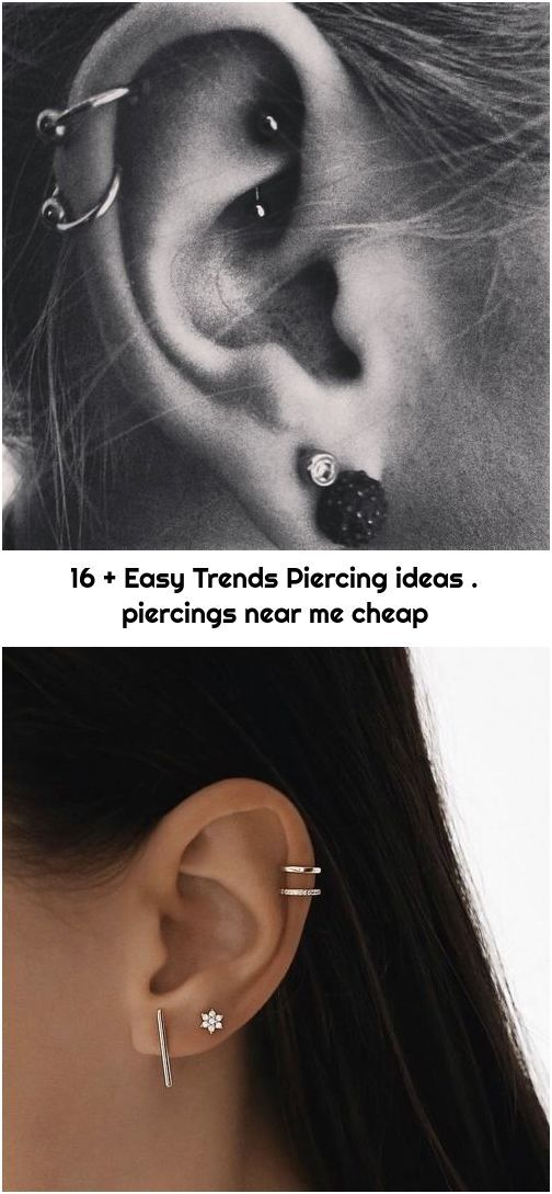 16 Easy Trends Piercing Ideas Piercings Near Me Cheap In 2020
