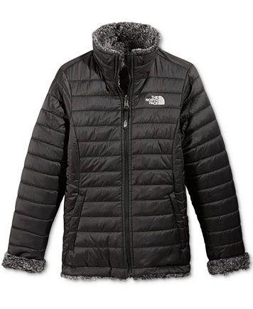 The North Face Reversible Mossbud Swirl Jacket, Little Girls (2-6X) & Big Girls (7-16) | macys.com