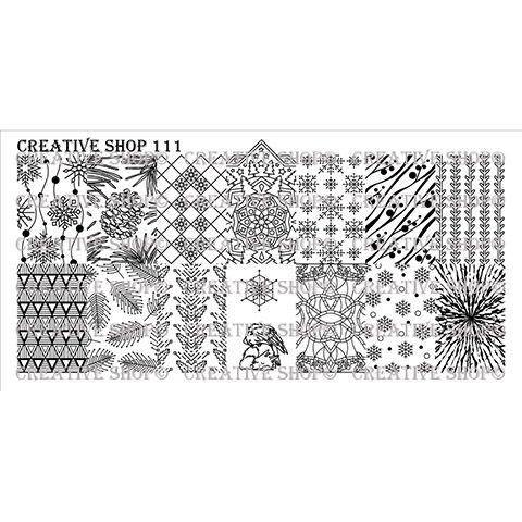Creative Shop- Stamping Plate- 111