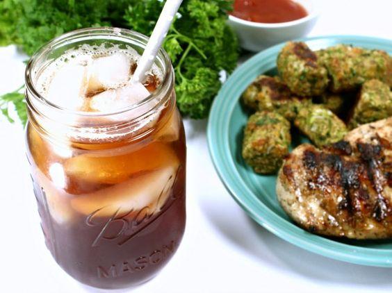 Healthy Baked Broccoli Tots http://wannabite.com/vegetable-tots/ #BrightBites #ad @liptonicedtea