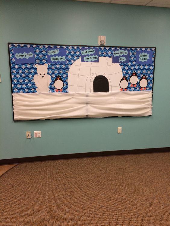 Polar Bears Bulletin Boards And Penguins On Pinterest
