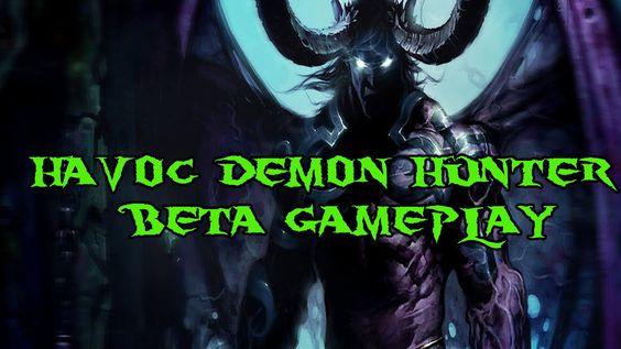 nice Havoc Demon Hunter Beta PvP Gameplay