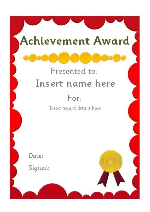 Editable school certificate. #teachingresources