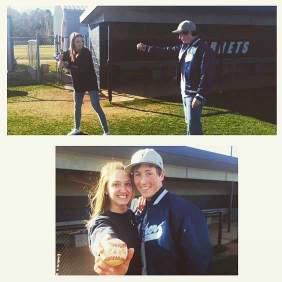 Promposal // Baseball ideas // girlfriend