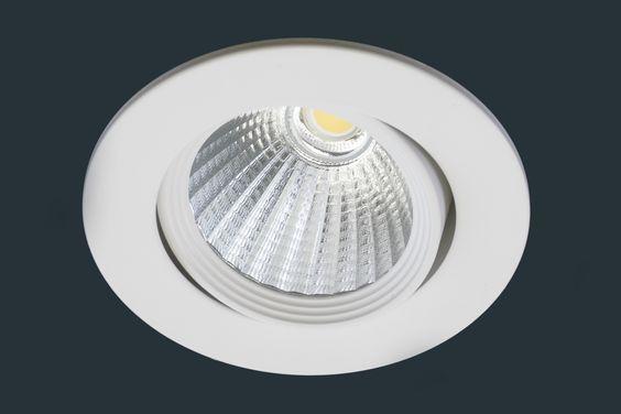 LED Einbaustrahler 230V integriertes Leuchtmittel - Bad, Flur