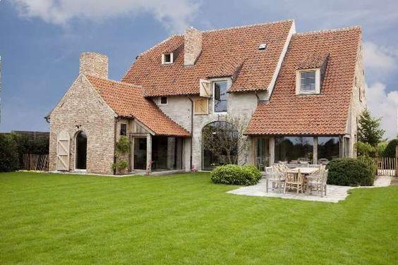 Mooi huis landelijke woningen pinterest beautiful ramen en belgi - Mooi huis ...