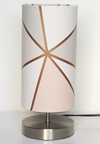 Geometric Lamp Lampshade Night Light Girls Bedroom Bedside Table