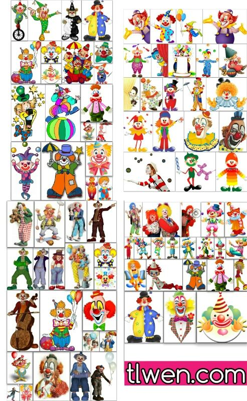 سكرابز مهرجين للتحميل Clowns Clipart Png Free Clip Art Holiday Decor Design Resources