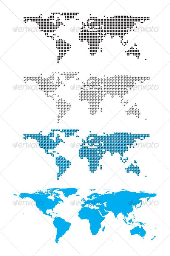 VECTOR DOWNLOAD (.ai, .psd) :: http://vector-graphic.de/pinterest-itmid-1000093100i.html ... Digital world map ...  black, blue, business, clean, communication, continents, corporate, digital, dots, earth, map, silhouettes, travel, white, world  ... Vectors Graphics Design Illustration Isolated Vector Templates Textures Stock Business Realistic eCommerce Wordpress Infographics Element Print Webdesign ... DOWNLOAD :: http://vector-graphic.de/pinterest-itmid-1000093100i.html
