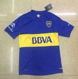 Boca Juniors 2015-2016 Season Home Soccer Jersey