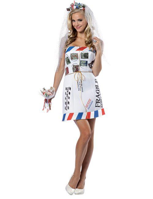 Brief Braut Kostüm - Artikelnummer: 498980000 - ab 59.99 EURO - bei www.racheshop.de!