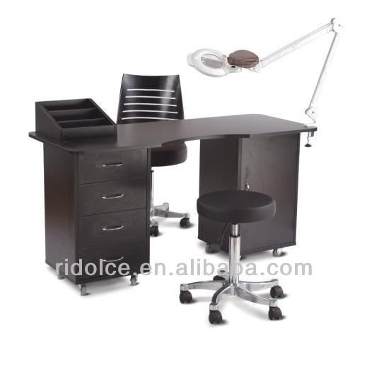 Salon equipment, Products and Nails on Pinterest -> Table Salon Mdf