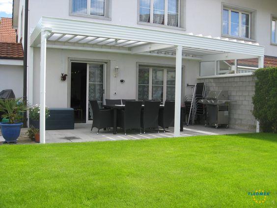 Terrassenüberdachung passend zur Fassade Ihres Hauses Ideen - garten terrasse uberdachen