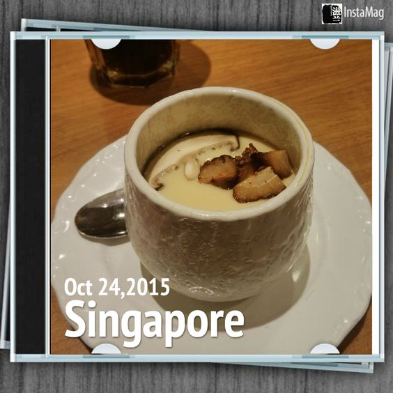 #FD1510 #JapaneseFood   面屋武藏的茶碗蒸。