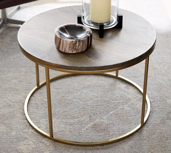 Delaney 25 Round Coffee Table Coffee Table For Small Living