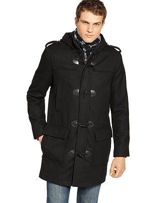 Guess Coat Hooded Toggle Coat - Mens Coats &amp Jackets - Macy&39s | I