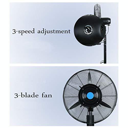 Xfpink Spray Floor Fan Oscillating Indoor Outdoor Standing Floor Fan For Quick Cooling 3 Sp In 2020 Indoor Outdoor Floor Fan Indoor