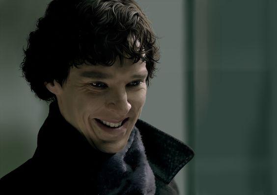Smile Sherlock by Apollotheneverender.deviantart.com on @deviantART