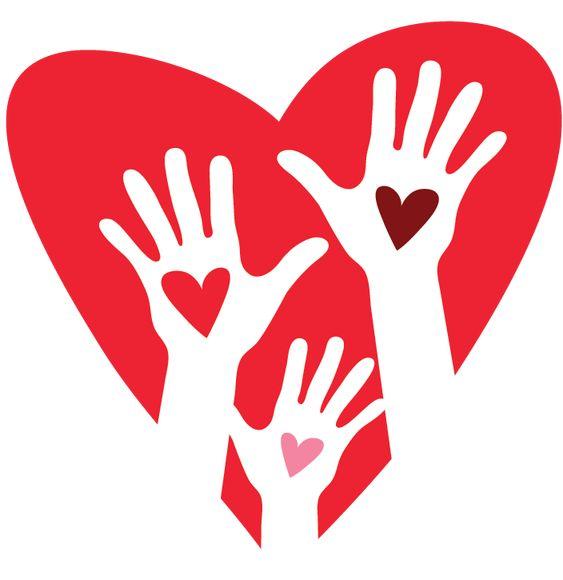 Heart Hands Logo Design