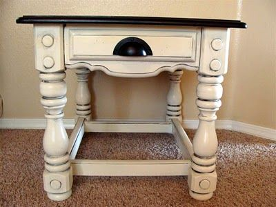 EASY with Plaster Paint in Ivory Lace and Black!