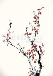 R sultat de recherche d 39 images pour dessins cerisiers - Branche de cerisier japonais ...