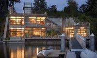 Contemporary Waterfront Home ~ Design by Scott Allen Architecture (United States)