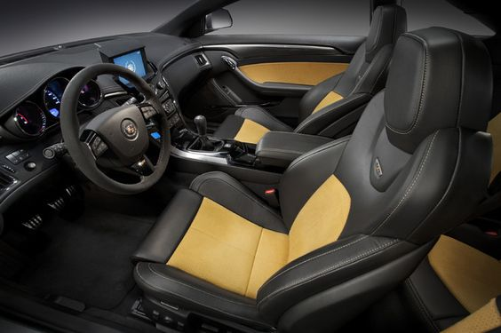 Cadillac CTS V interior