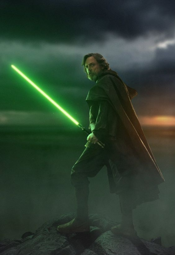 Star Wars Episode Viii The Last Jedi Grand Master Luke Skywalker Star Wars Artwork Star Wars Art Star Wars Images