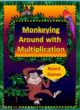 """- This basic facts multiplication game can be played with 2 to 4 players.   - Included are several sets of cards over different skills that can be used to review one or more skills. As well as 3 different boards.   - Card sets included are:   x0 x1 x2 x3 x4 x5 x6 x7 x8 x9 x10 x11 x12   - Each set has a unique graphic for sorting if sets are mixed.   -I have included playing pieces and """"pouches"""" to store each set of cards. Pouches have the unique graphic for each set as well."""