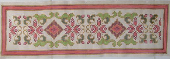talagarça pintada para bordar tapeçaria   Tapete & Arte   Elo7