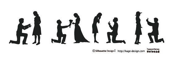 素材関連 おしゃれまとめの人気アイデア Pinterest Pomtabo 影絵 シルエット プロポーズ