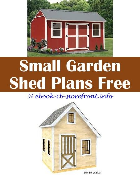 Pin Su Easy Modern Shed Plans