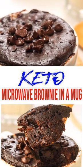 BEST Keto Mug Cakes! Low Carb Microwave Chocolate Brownie ...