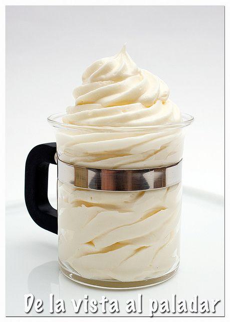Crema de mantequilla  Panes y postres  Pinterest