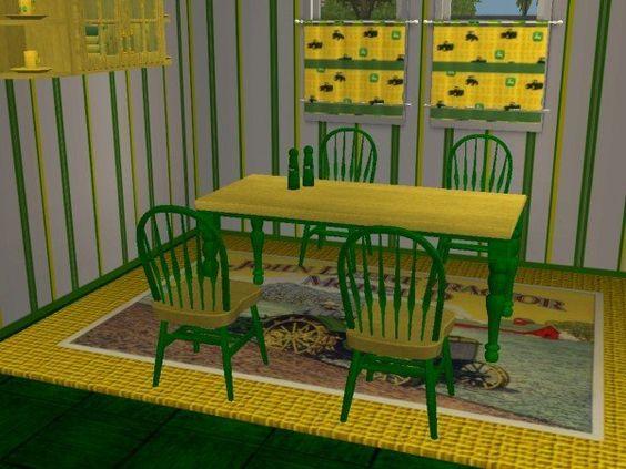 John Deere Kitchen John Deere And The Sims On Pinterest