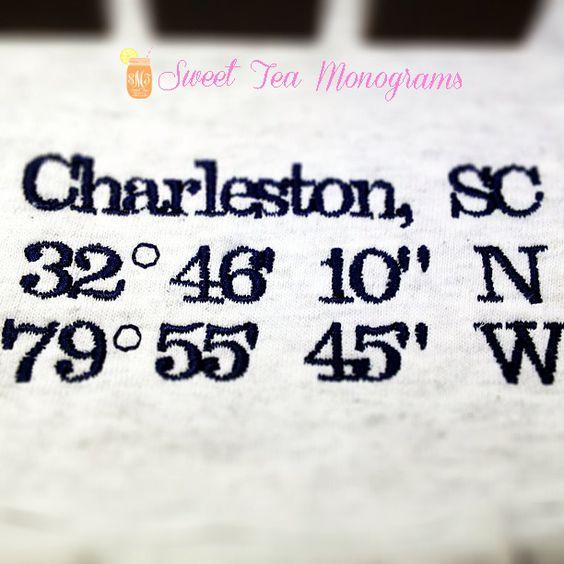 Charleston sc coordinates tattoo and tattoos and body art for Tattoo charleston sc