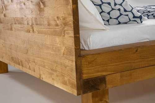 Bett Ludwig Create By Obi In 2020 Bett Selber Bauen Massiv Bett Rustikale Mobel