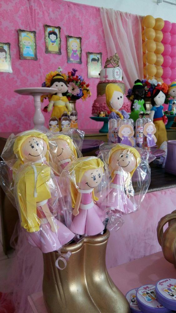 Decoração Princesas Disney por Nick Provençal