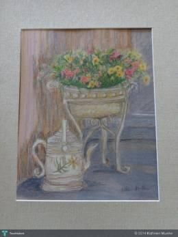 """""""Flowers In Entry"""" #Creative #Art in #sketching @Touchtalent http://bit.ly/Touchtalent-p"""