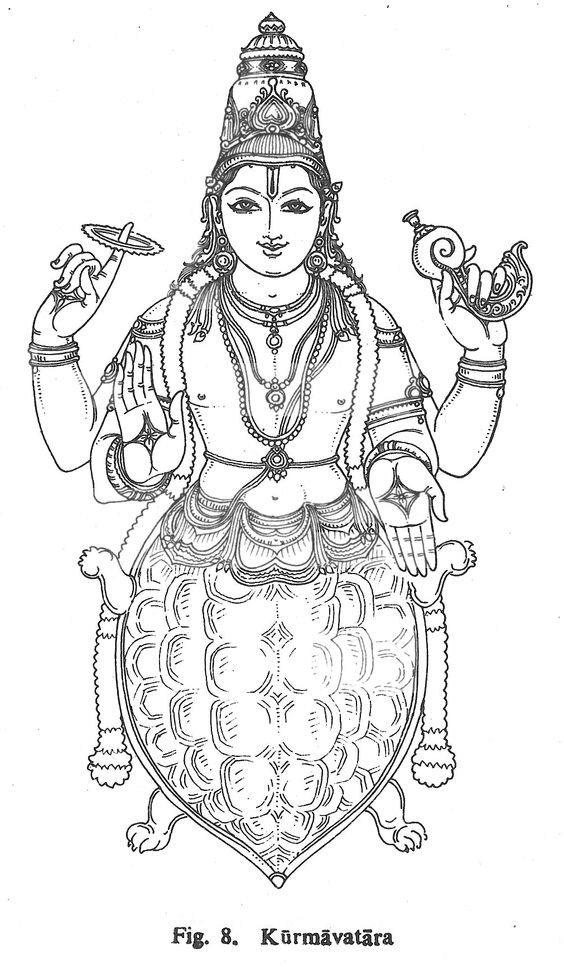 samudra manthan coloring pages - photo#1