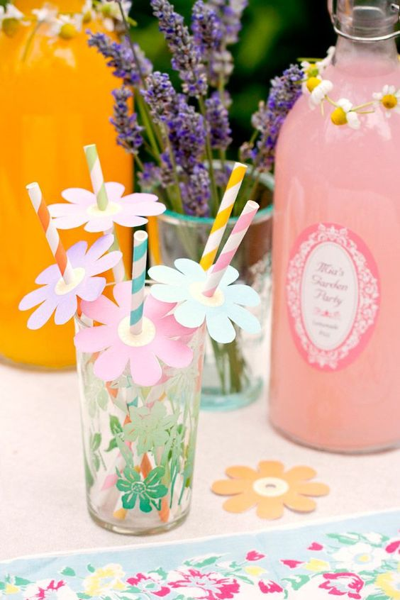 Garden Party Printables from My Own Ideas blog